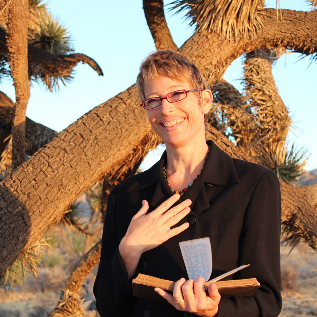 Non denominational wedding minister in Joshua Tree.