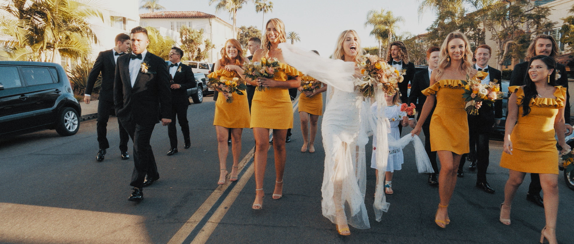 Bree Brock S Seaside San Diego Wedding Featured On Green Wedding